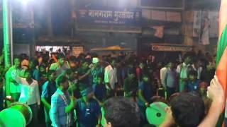 durga puja jhanki  wisarjan c.m.d. college bilaspur chhattisgarh