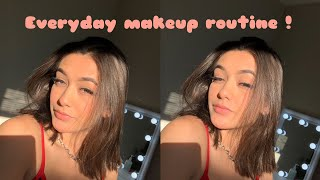 everyday makeup routine grwm + get to know me!!
