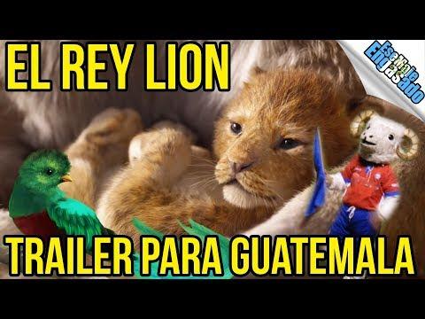 El Rey Lion | Trailer Para Guatemala