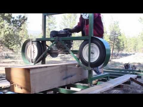 Homemade Portable Sawmill Build pt 5 - Country Living -