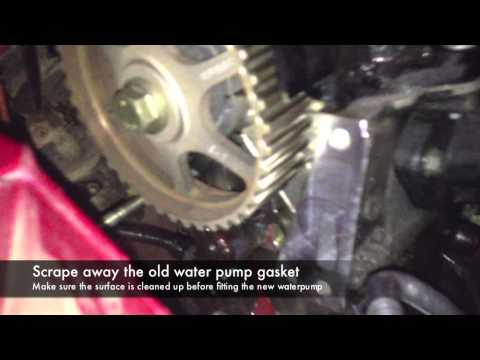 Фото к видео: Timing Belt Replacement - Renault Clio 1.2 16v D4F