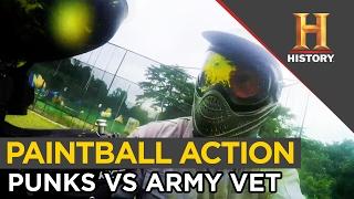 Punks Play Paintball Against Army Vet | Asia