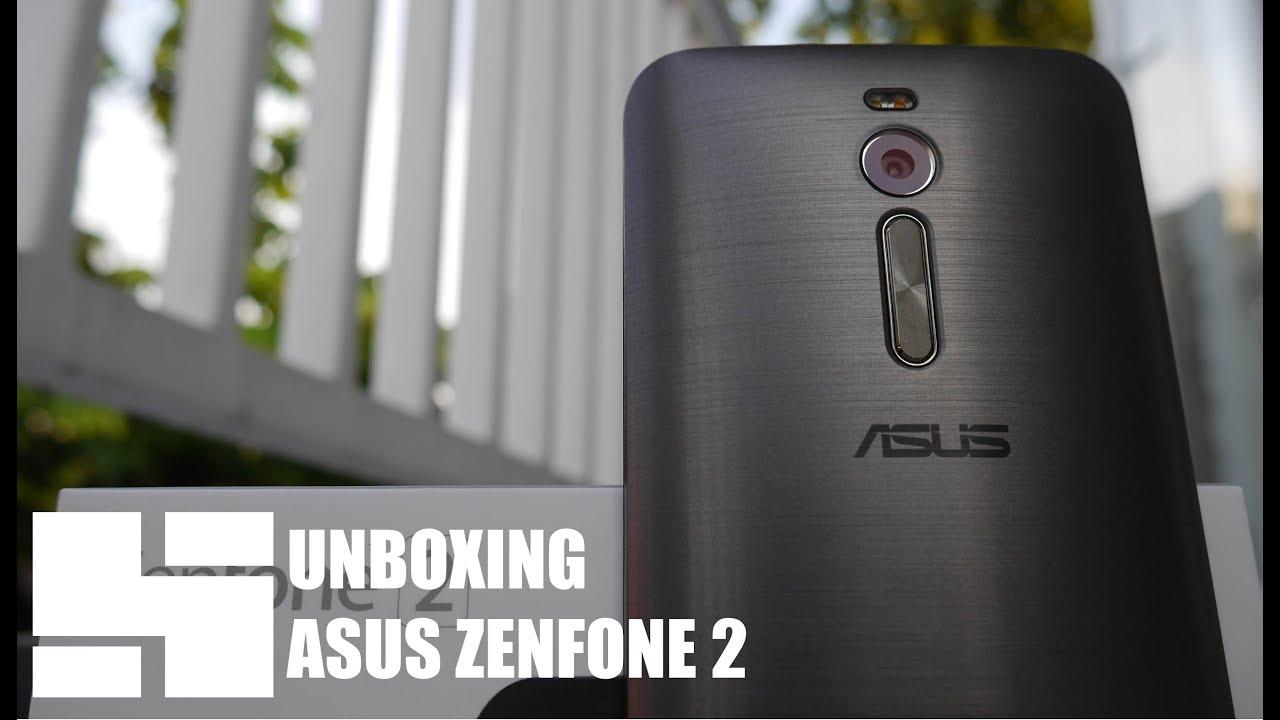 Unboxing Asus Zenfone 2 Ze551ml Indonesia Youtube