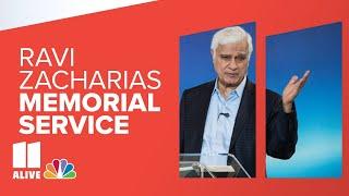 Memorial service for Ravi Zacharias; VP Pence in attendance   Live