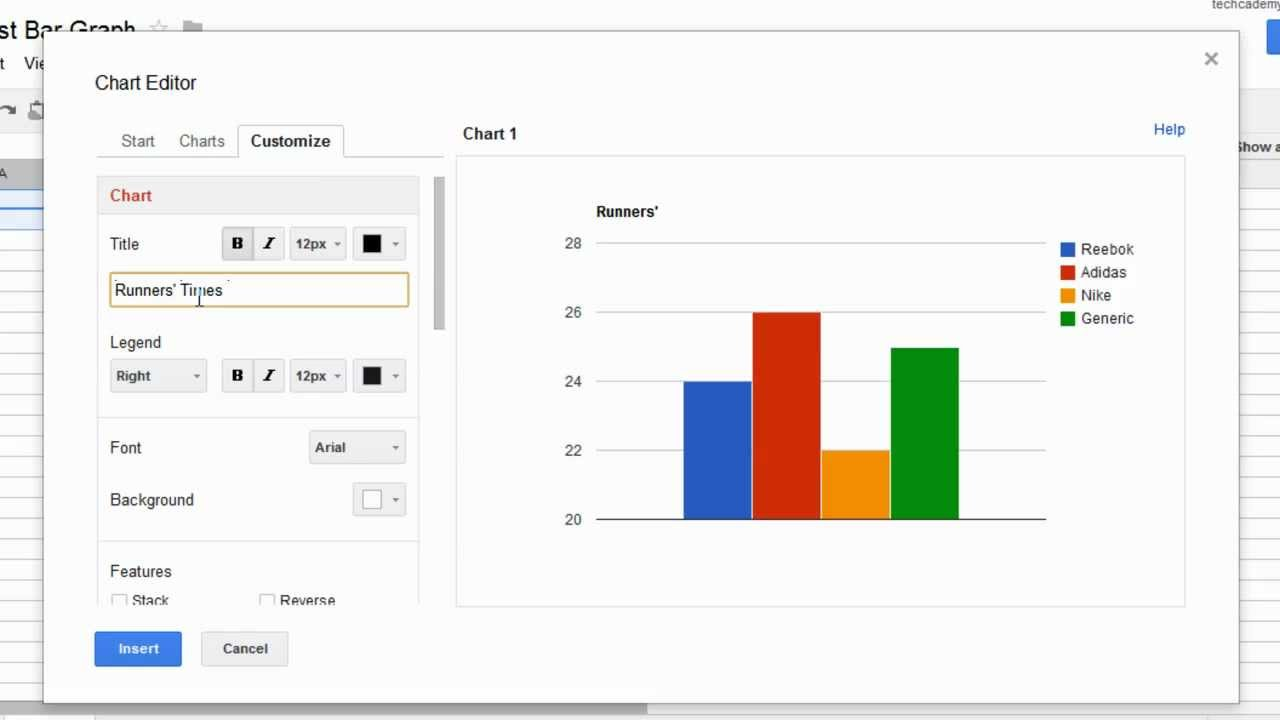 maxresdefault how to create a bar graph in google docs youtube