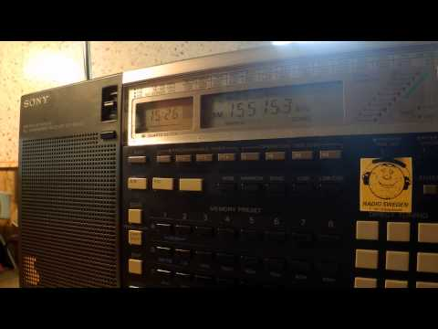 15 08 2015 IRRS Shortwave relay Radio Warra Wangeelaa ti in Oromo to EaAf 1525 on 15515 Tiganesti
