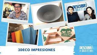 Santiago Montero | 3DECO Impresiones | General Roca | Río Negro