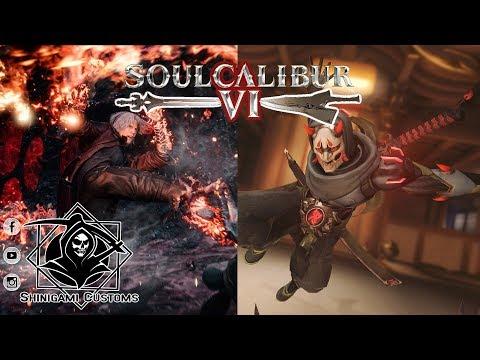 Overwatch Oni Genji vs Devil May Cry 5 Dante - SoulCalibur VI CPU vs CPU on PS4 Pro thumbnail