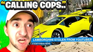 Crazy Fan STOLE My Car In Real Life.. (Fortnite)