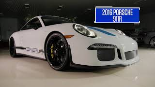 2016 Porsche 911R // Lot R473 // From the Michael Fux Collection