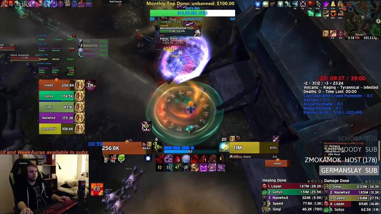 Rank 1 Motherlode +20 IN TIME - Blood DK PoV