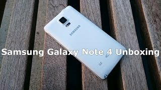 Samsung Galaxy Note 4 Unboxing Thumbnail