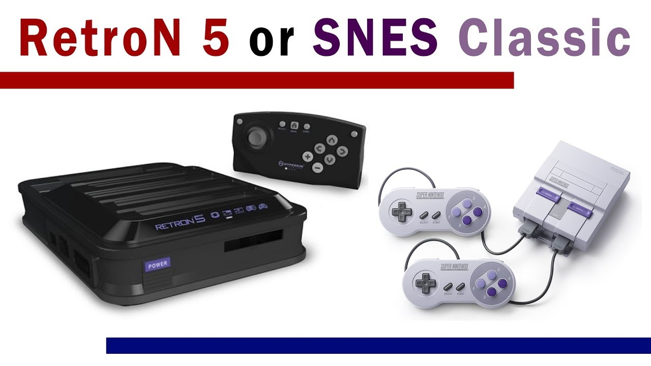 Retron 5 or SNES Classic with USB Host?