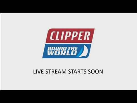 Clipper 2017-18 Round the World Yacht Race – Live Start from Liverpool, UK
