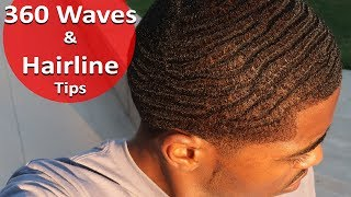 How to Get 360 Waves and Protect your Hairline from Receding!