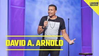 David Arnold Thinks Old People Are Mad To Be Alive | Just For Laughs