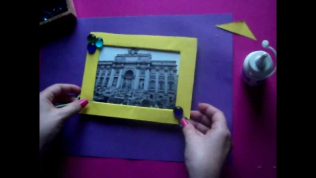 Como hacer un marco de fotos doovi - Hacer marco fotos ...