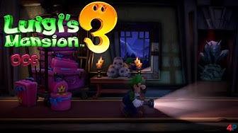 Luigi's Mansion 3 - 006: Schlüsselfolge 1/2 ( alle Pik,Karo,Herz,Kreuz Schlüssel )