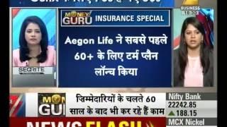 Gambar cover Money Guru : Insurance term plan specially for elderly peoples