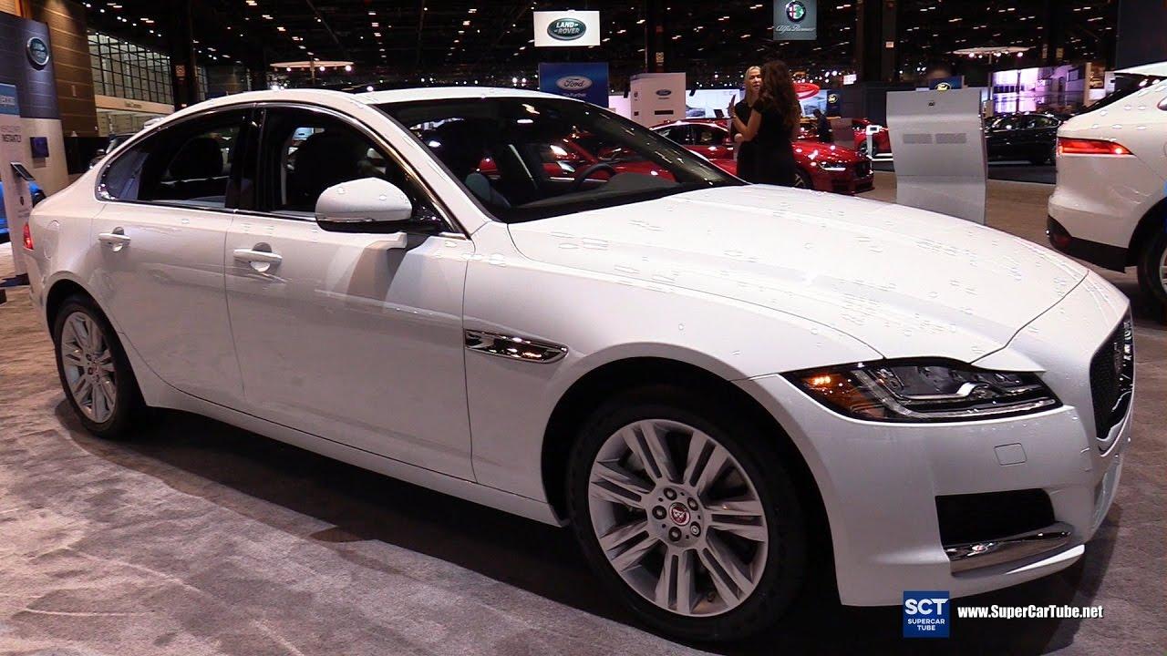 2017 Jaguar Xf Premium Awd Exterior And Interior Walkaround Chicago Auto Show