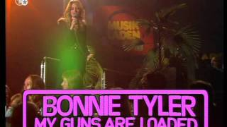 Bonnie Tyler - My Guns Are Loaded - Musikladen 1978 (Live Vocal)