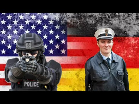 American Police VS German Police feat GZUZ