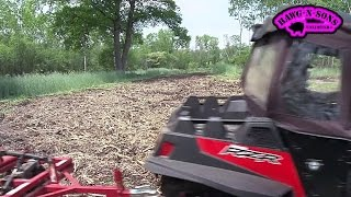 Polaris RZR 900 Turnin Dirt Loyal ATV Disc Harrow FOOD Plot Landscaping BIG Whitetail Deer