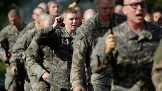 United States Army Rangers Recruits Demonstrate Skills - US Army Ranger School Graduation