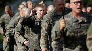 United States Army Rangers Recruits Demonstrate Skills - US Army Ranger School Graduation