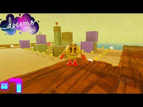 Dreams Community Levels (PS4 Pro) Part 7 - Pacman World Remake + Pacman Arcade