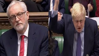 Boris Johnson furiously flips Corbyn's question - 'I am stopping terrorists, what are you doing?'