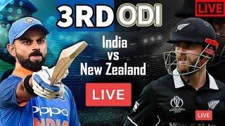 India Vs New Zealand Live Cricket Match 2nd Odi 2020 star sports Live Score And Commentary
