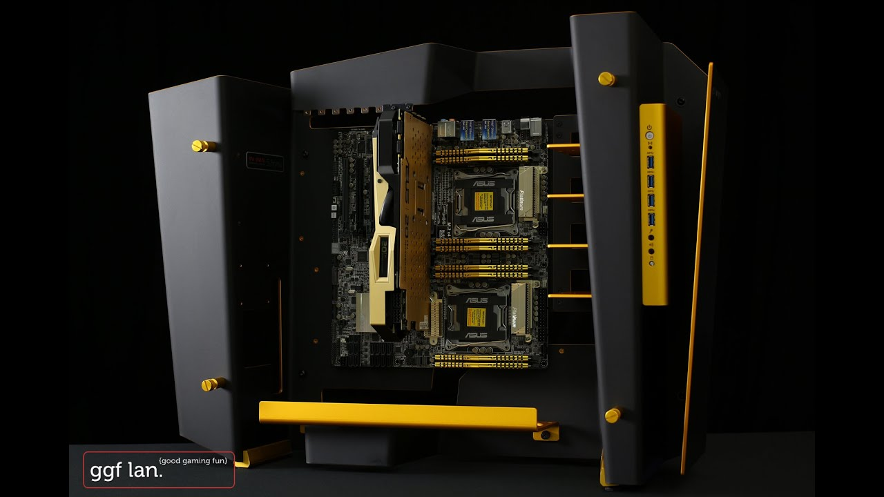 ASUS GTX 980 20th Anniversary Gold Edition Promo Video