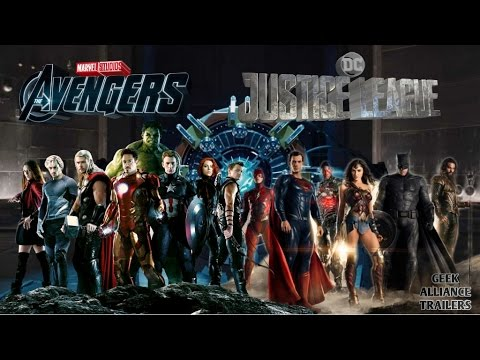 avengers v justice league fan made trailer - Avengers Vs Justice League
