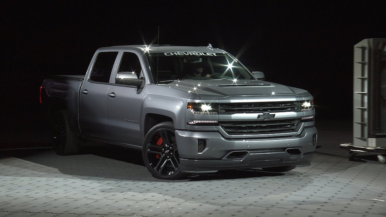 Chevrolet Performance At Sema 2017 Silverado Performance