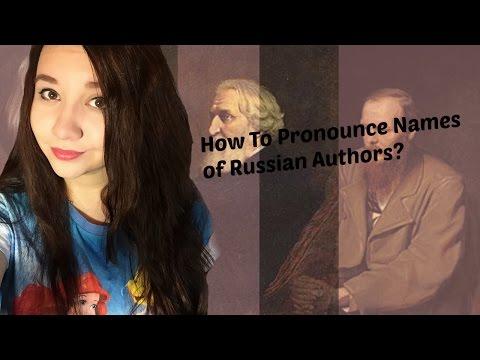 Pronounce Russian Women Names 89