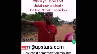WHEN YOU HEAR THAT RICE JOLOF RICE IS PLENTY 7TH DECEMBER..,/BRODA shaggi x mark angel