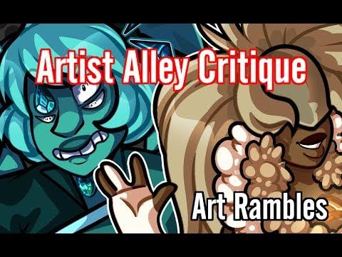 Artist Alley Critique | Art Rambles