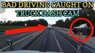 ☆TOP 20☆ TRUCK DASH CAM   BAD DRIVING CAUGHT ON VIDEO - A MUST SEE!!! JULY-AUGUST 2017