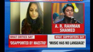 Language war: AR Rahman trolled for singing Tamil songs at London concert