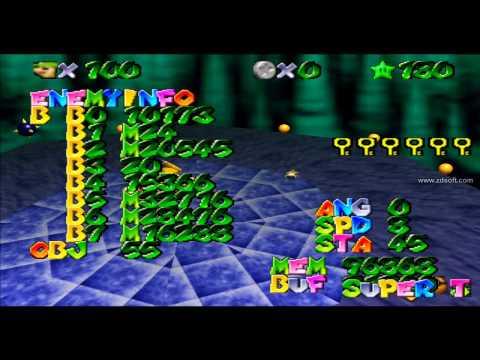 <b>Super Mario 64</b> Gameshark <b>Codes</b> For Fun In The JPN Version - YouTube