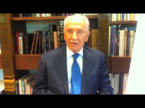 President Shimon Peres to Times of Israel on 65th Independence Day