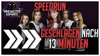 Geschlagen in 13Min! Vaevictis eSports Speed Run World Record [League of Legends]