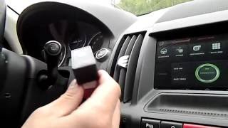 Навигация в Land Rover Freelander 2 за 5000 рублей!!!
