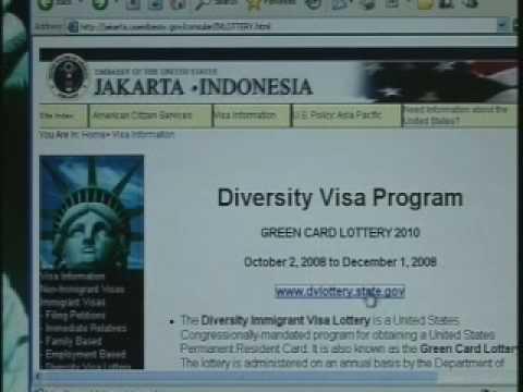 "Cara Daftar Undian ""Green Card"" Amerika"