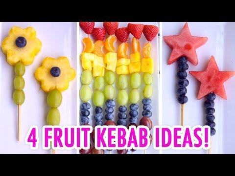 4 Easy & Healthy Fruit Kebabs! - HGTV Handmade