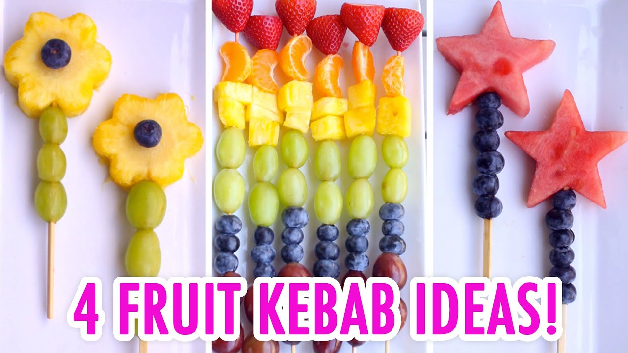4 Easy Amp Healthy Fruit Kebabs Hgtv Handmade Youtube