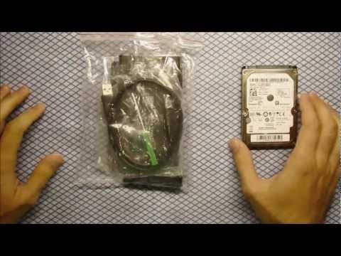 How to make Internal hard drive External - 2.5 SATA External Case (HDD Enclosure)
