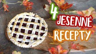 Čo si najradšej pečiem na jeseň - 4 RECEPTY 🍪| Patra Bene