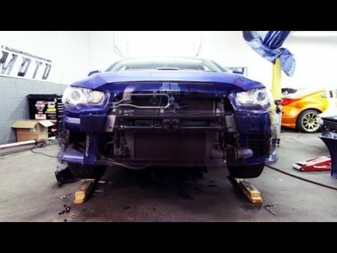 How To Install Mishimoto 2008 Mitsubishi Lancer Evolution X Oil
